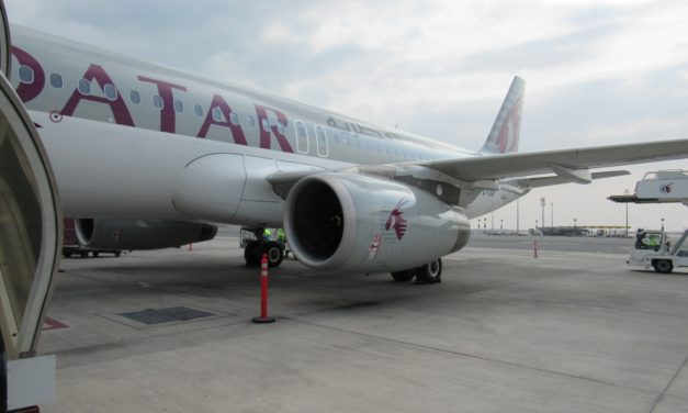 Qatar Airways A320 Business Class Review CMB-DOH