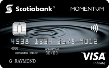 Changes to Scotia Momentum® Visa Infinite card, starting August 1, 2019