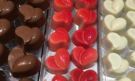 Valentine's Day means Belgian chocolate