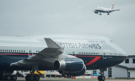 British Airways add a Landor livery to their fleet of retro jets