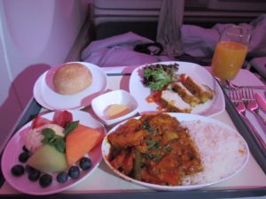 Light Meal on Air China
