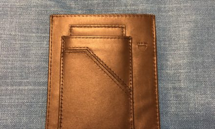 REVIEW – The Mule Passport Sleeve Travel Wallet