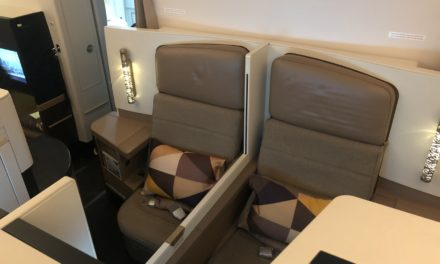 Flight Review: Etihad Airways Business Class 787