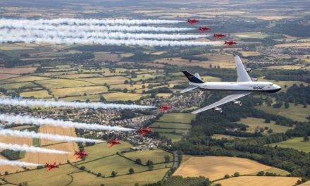 Which is the best British Airways and Red Arrows flypast?