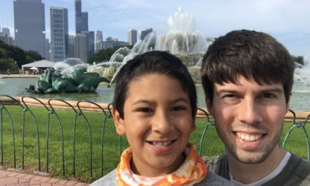 A Father-Son Chicago Weekend: Day 1