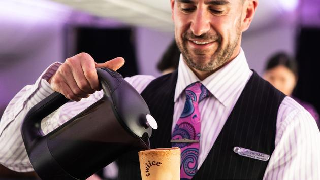 Are edible coffee cups the future? Air New Zealand thinks so!