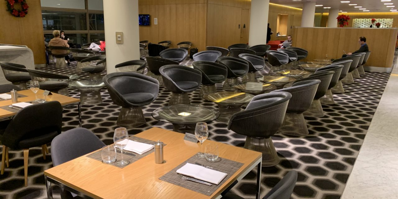 Review: The Qantas First Lounge at LAX