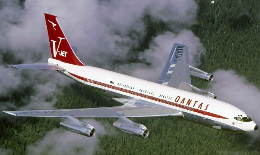 Warum hat Boeing Qantas zu einer Sonderversion des 707 gemacht?