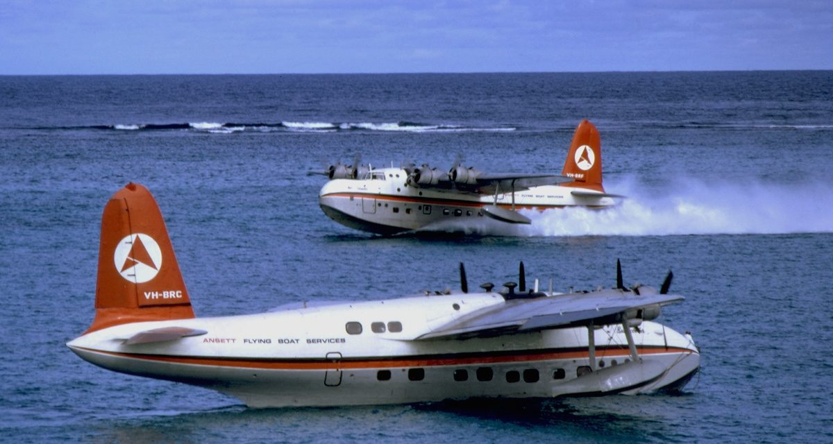 Does anyone remember the last flying boat, the Short Sandringham?