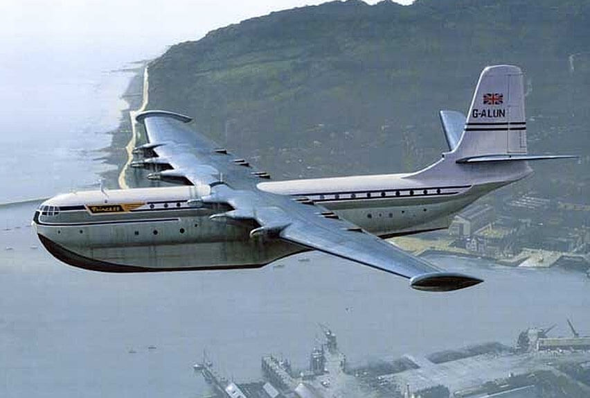 Does anyone remember the gigantic Saunders-Roe Princess flying boat?