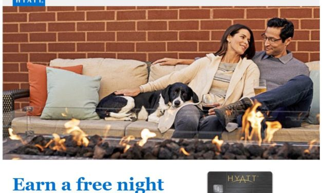 Earn a Free Night with $4000 in Spend on the Hyatt Credit Card Plus 5x Amazon/3x Grocery