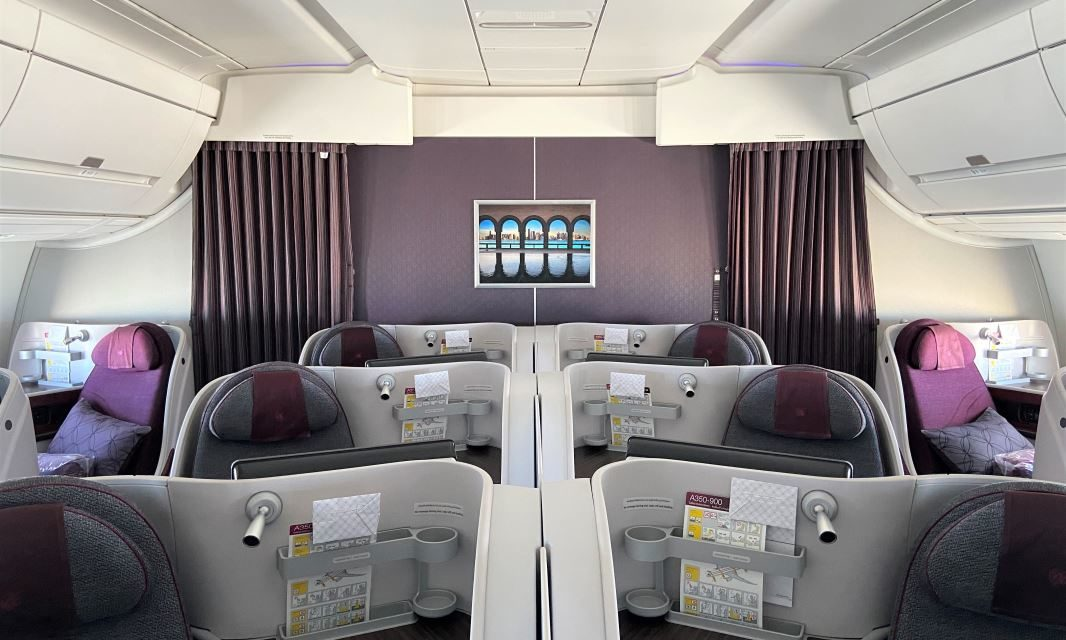 What is Qatar Airways A350 Business Class like right now?
