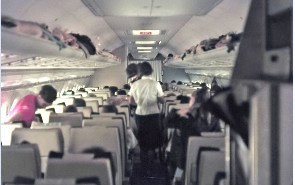 Check out these vintage candid inflight 707, DC-8, VC10 and Comet 4 cabin photos