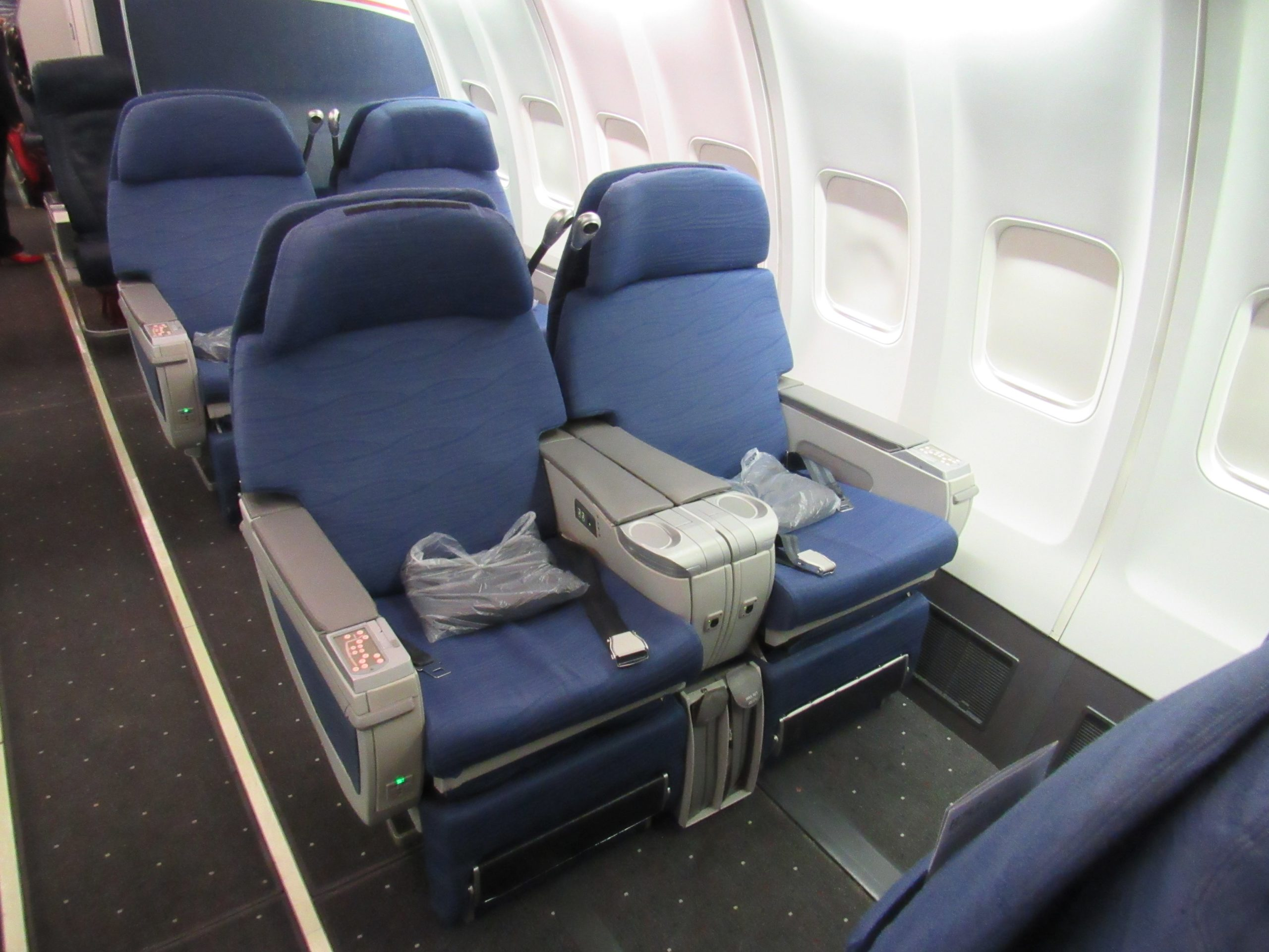 Legacy US Airways 757 Business Class